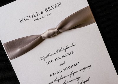 Philadelphia Wedding Invitation Designer