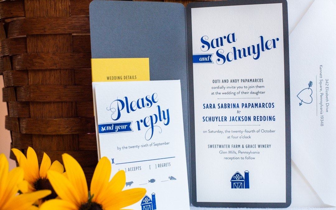 Wedding Invitation with Whimsy