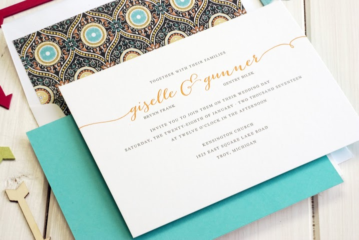 Ideas for Traditional Wedding Invitation Wording