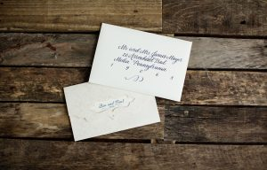 what to include in a wedding invitation envelope