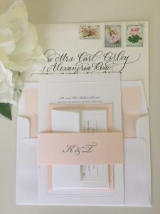 Wedding invitation wording: one of our favorites.