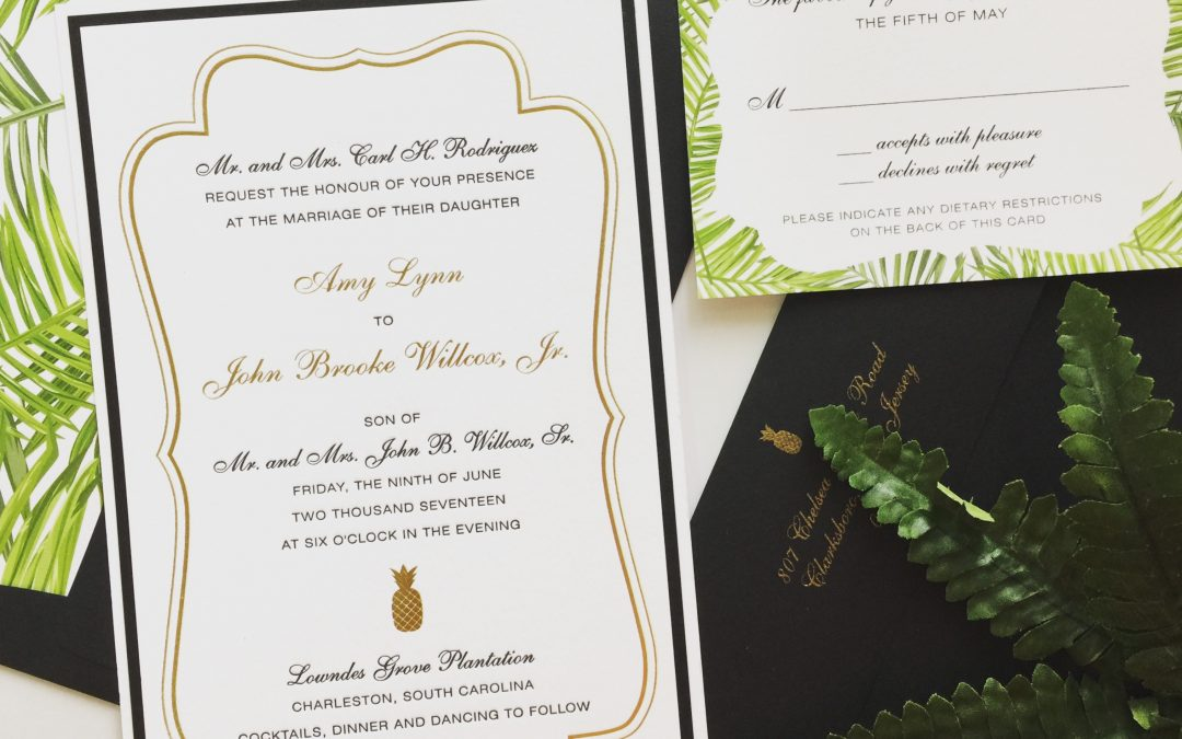 10 Examples Of Great Wedding Invitation Wording Paper Posh