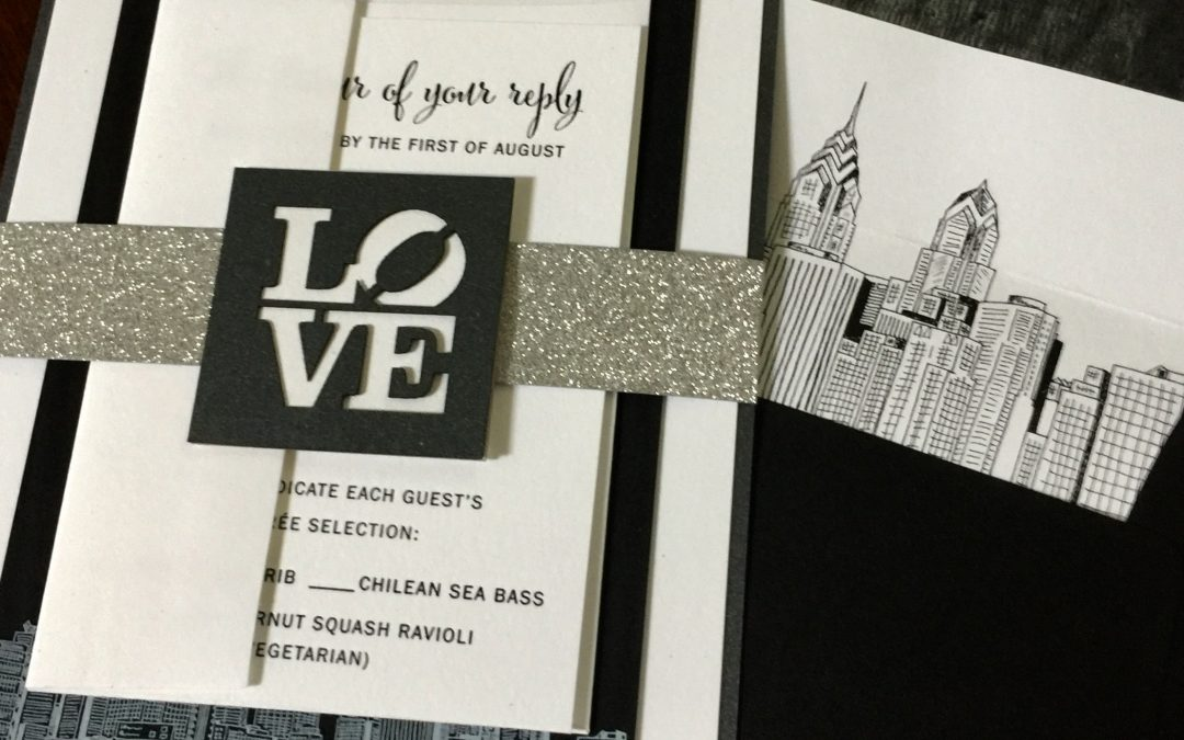 The third example of our favorite wedding wording and design