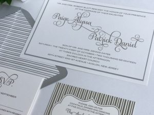 attractive matching envelope liners