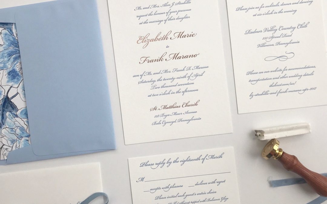 The Anatomy of a Wedding Invitation