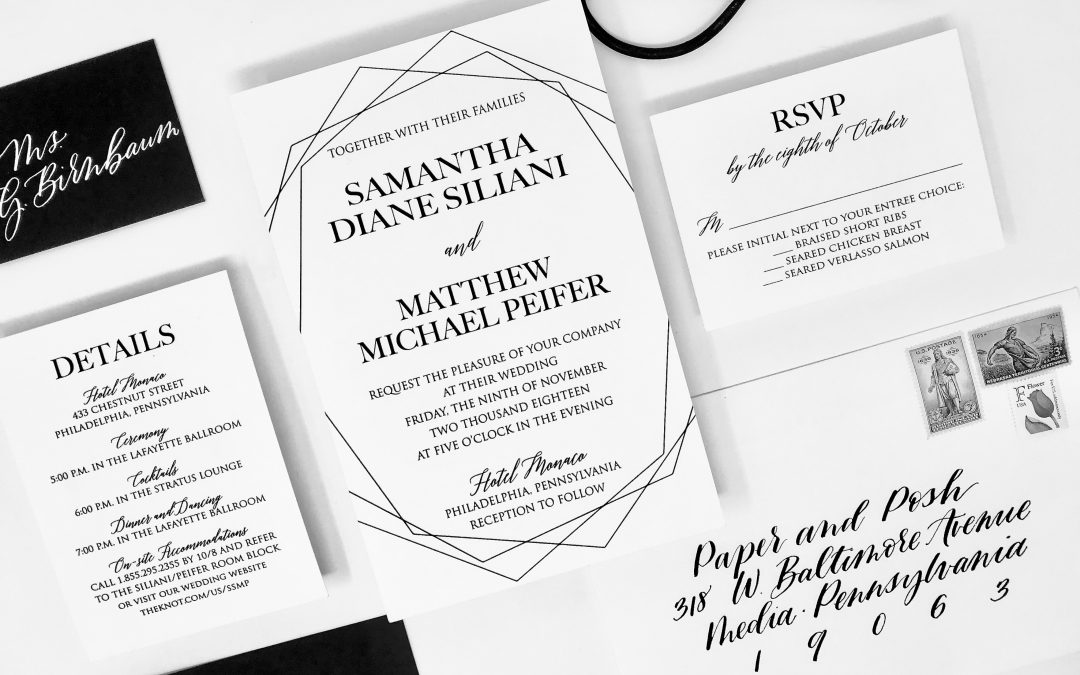 Wedding Invitation Etiquette – 5 common mistakes
